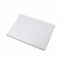MDF laminate 22mm (1 side , white )