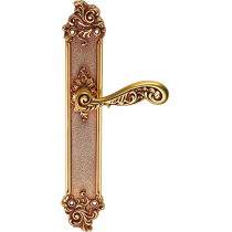 Handle on plate Rococo
